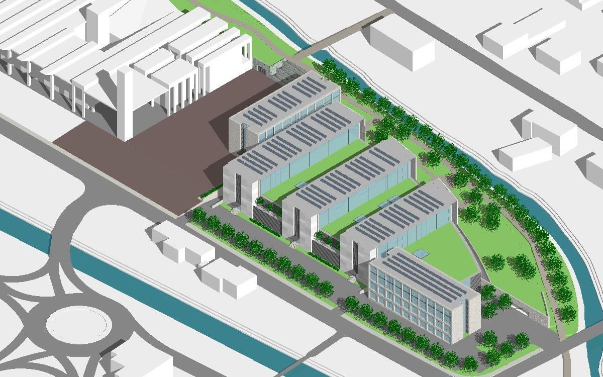 Progetti beppo toffolon architetto for Progetti di costruzione commerciale gratuiti